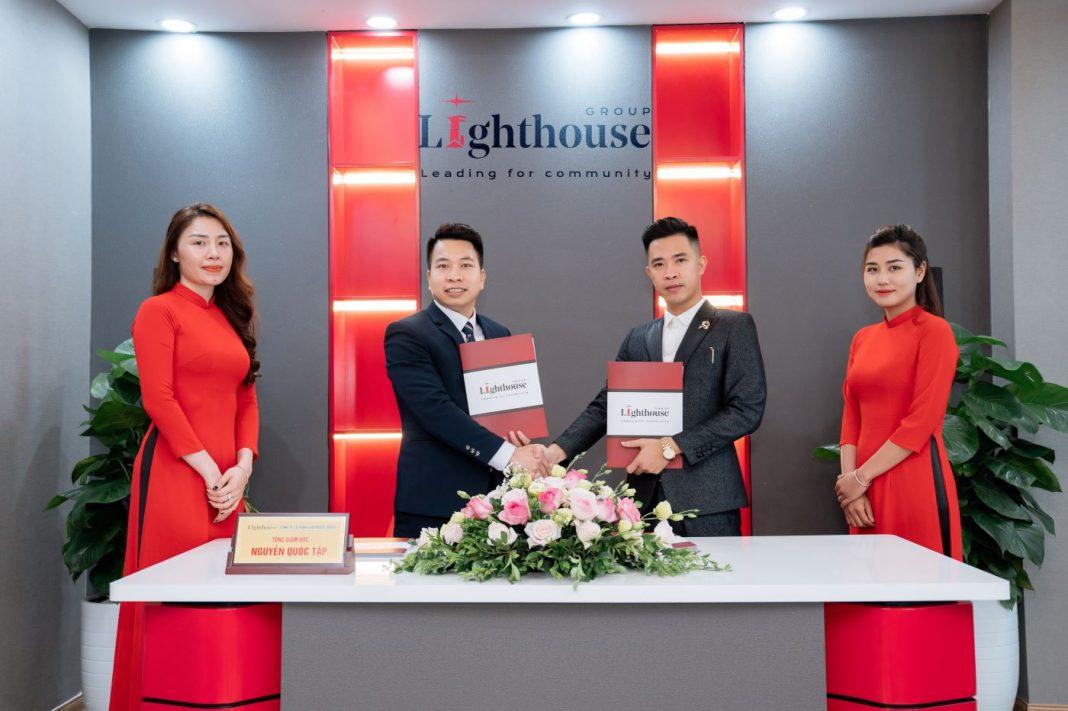 Trần Tuấn Phương - Lễ ký kết thành công giữa Coaching Business và Lighthouse Group